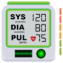 Blood pressure Tracker & BP Diary 2021 icon