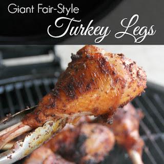 Giant Fair-Style Turkey Legs.