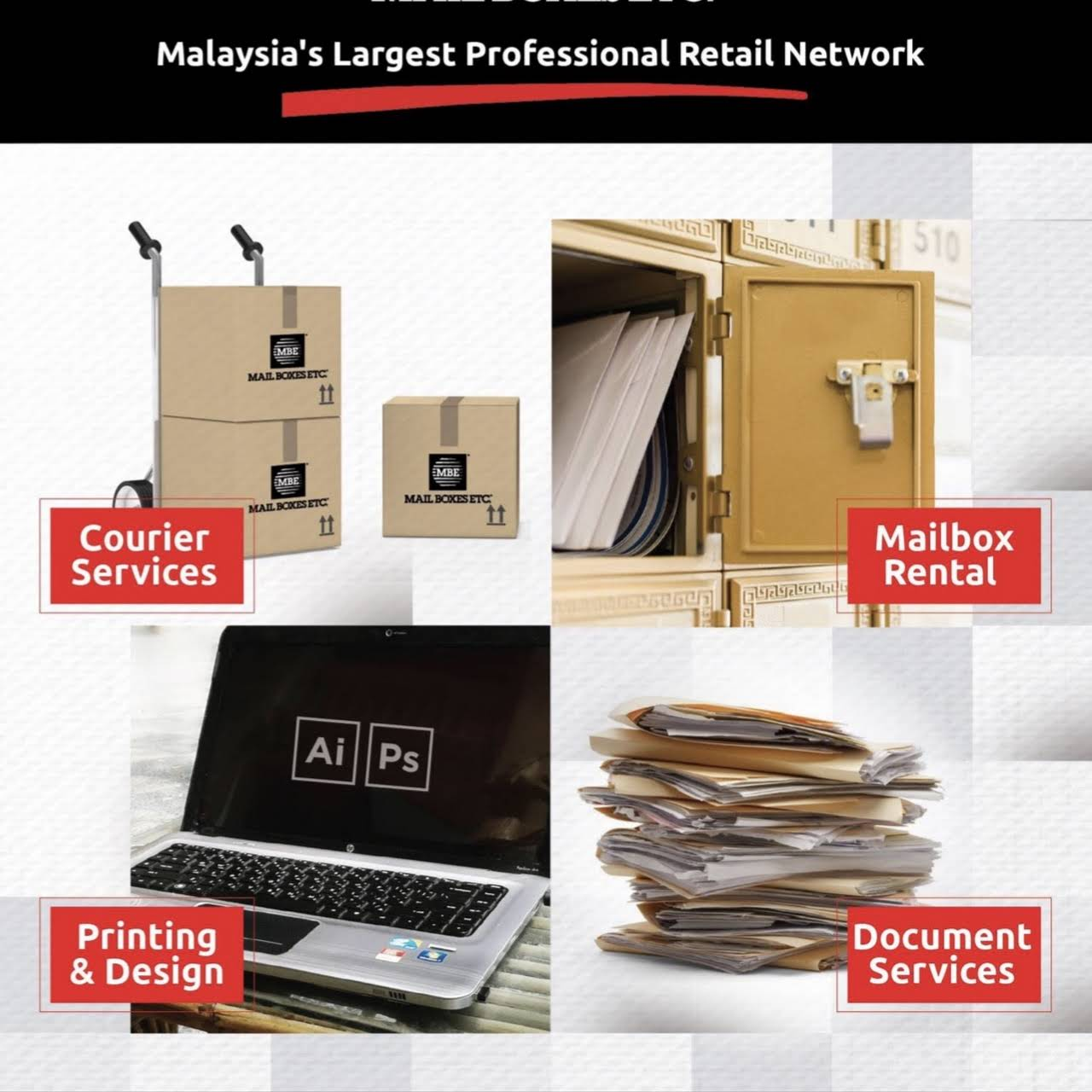 Mail Boxes Etc , Paradigm Mall - Courier Experts