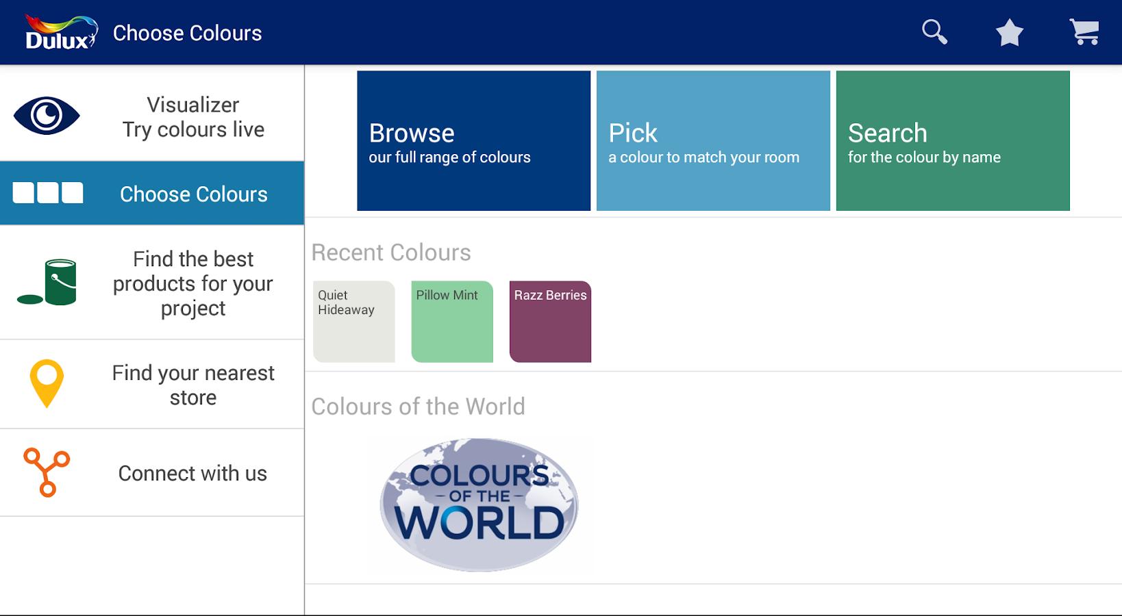 Dulux Visualizer IN- screenshot