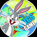 Lonney Tunes bugs Dash bunny