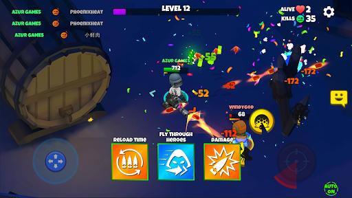 Warriors.io - Battle Royale Action screenshots 4