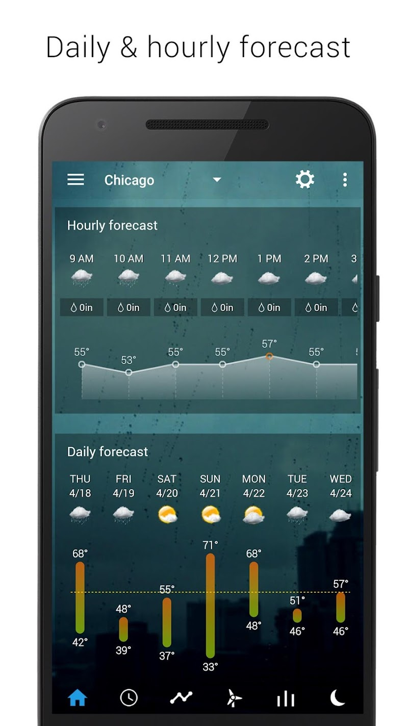 Sense Flip Clock & Weather (Ad-free) Screenshot 2
