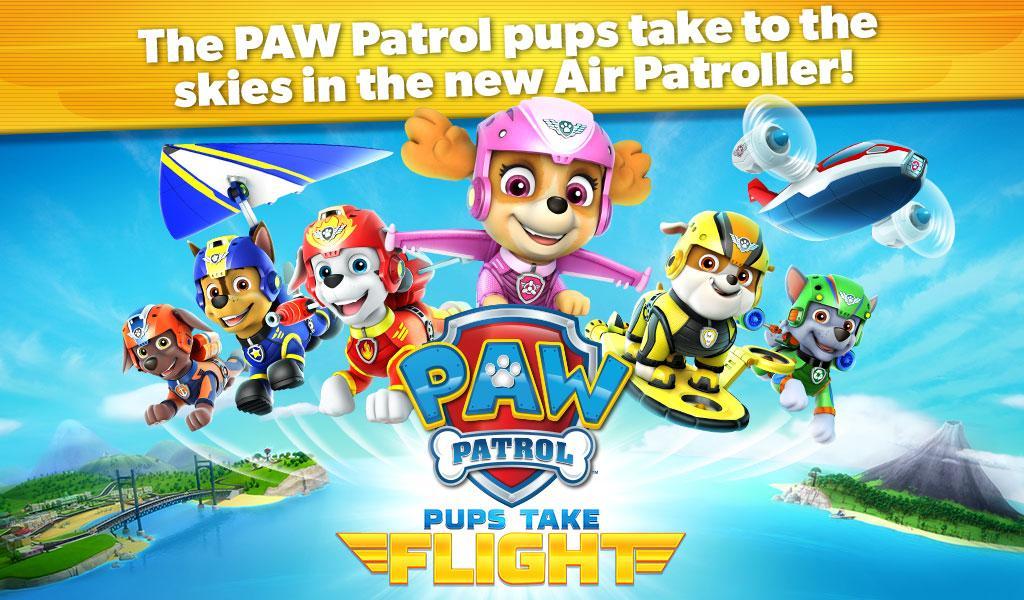 PAW Patrol Pups Take Flight APK Cracked Free Download