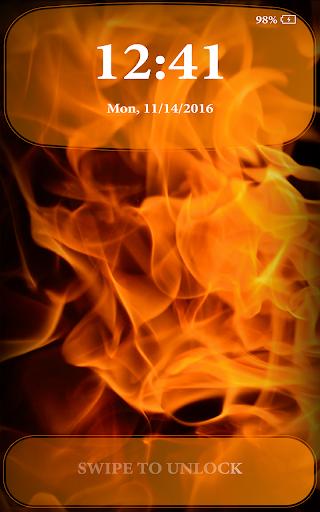 Fire Lock Screen 2.4 screenshots 6