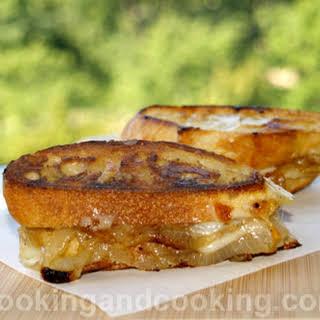 French Onion Sandwich.