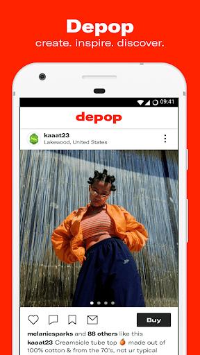 Depop - Shop. Clothing. Sneakers. Streetwear. 2.46.1 screenshots 1
