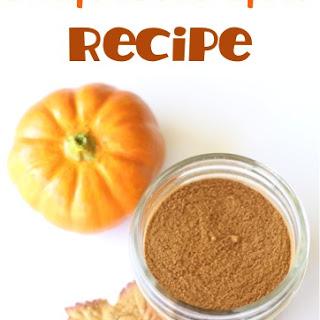 Pumpkin Pie Spice Recipe!