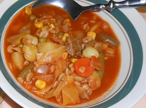 Ellen's Hoosier Vegetable Soup--best Of The Best