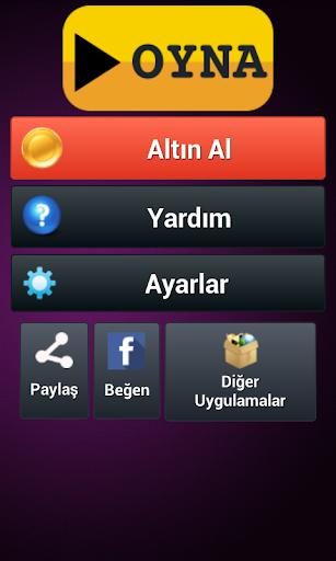 Turkish Anagram Puzzle