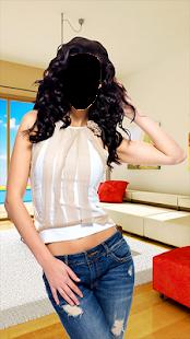 Famous Girl Fashion Photo Montage - náhled