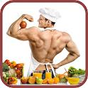 Dieta para ganar masa muscular icon