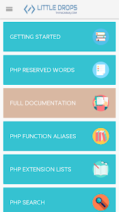 PHP Documentation (Learn PHP)- screenshot thumbnail