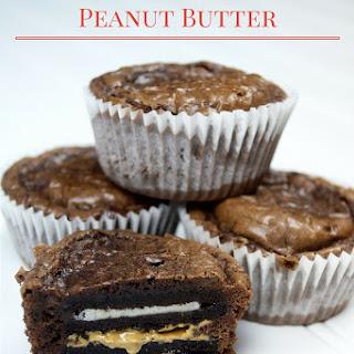 Oreo Peanut Butter Brownie Bombs