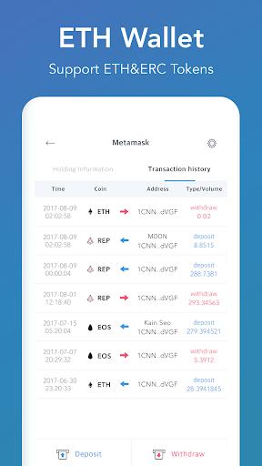 CoinManager- Bitcoin, Ethereum, Ripple finance app 1.04.83 screenshots 8