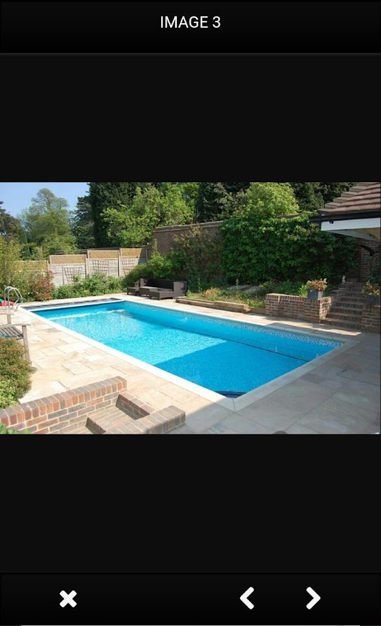 Swimming pool design ideas android apps on google play for Swimming pool design app