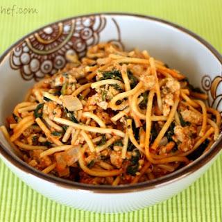 Creamy Turkey Spaghetti