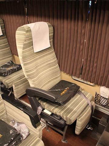 JR東海バス「ドリームなごや1号」 ・918_06 シート