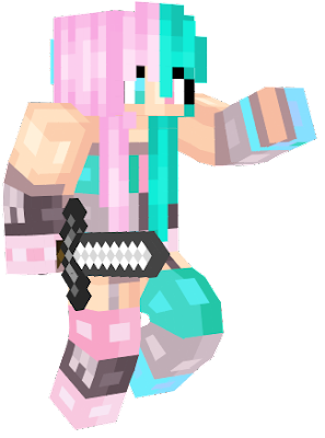 this one reminds me of my friend tia she dyed her hair pink last year but now its blue. that's so cool xD