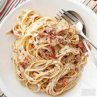 Bacon Carbonara No Eggs Recipes.
