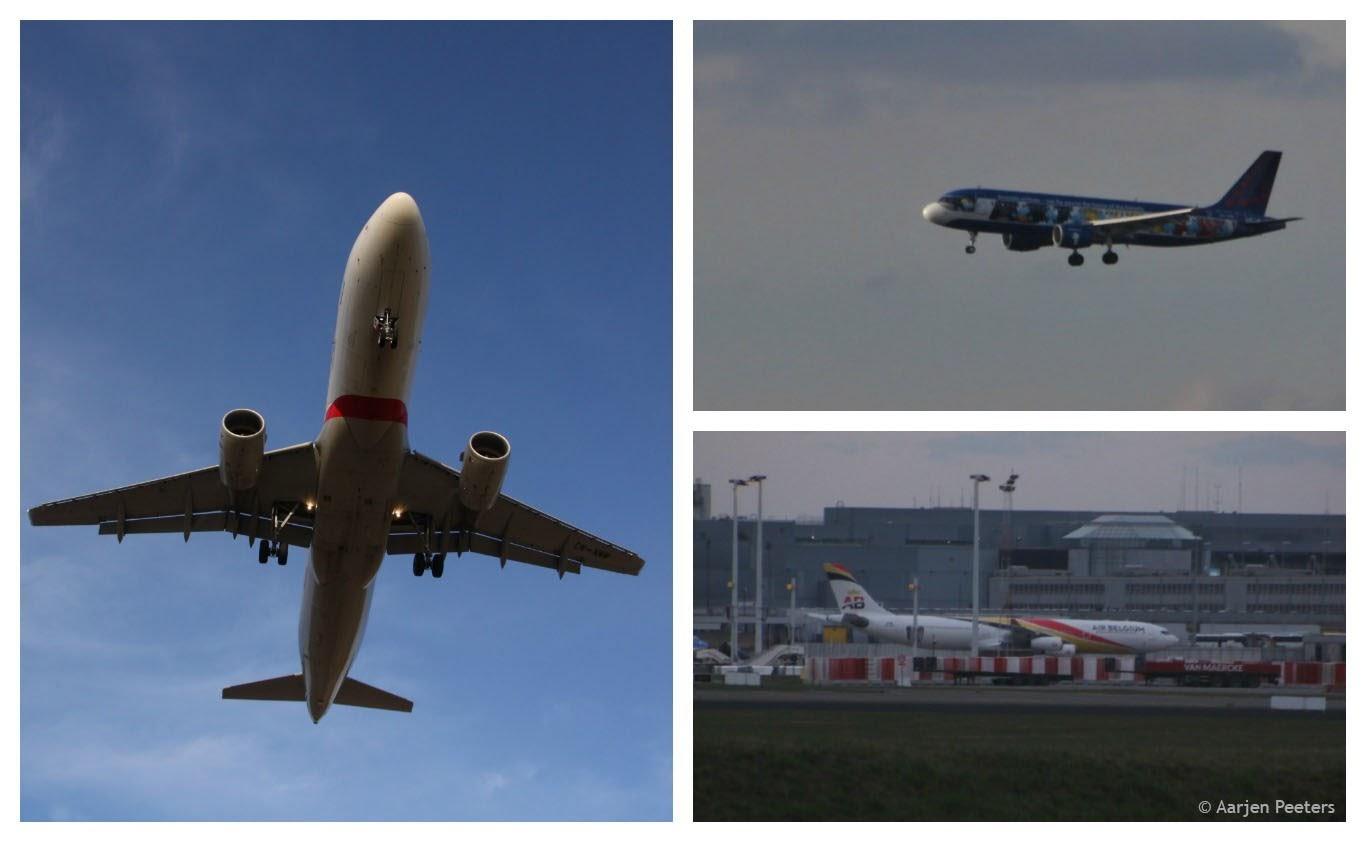 Vliegtuigen spotten Zaventem (Aarjen Peeters)