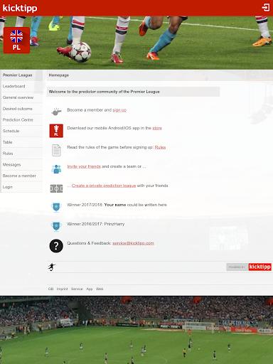Kicktipp - Football predictor game and more  screenshots 13