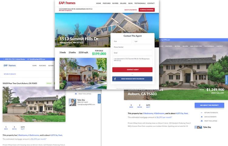 Easy Agent Pro MLS Lead Friendly Listings