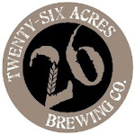 Logo for Twenty-Six Acres Brewing Co.