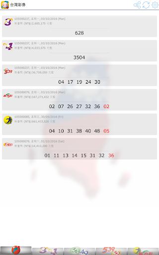 Fast Taiwan Lottery Results screenshot 9