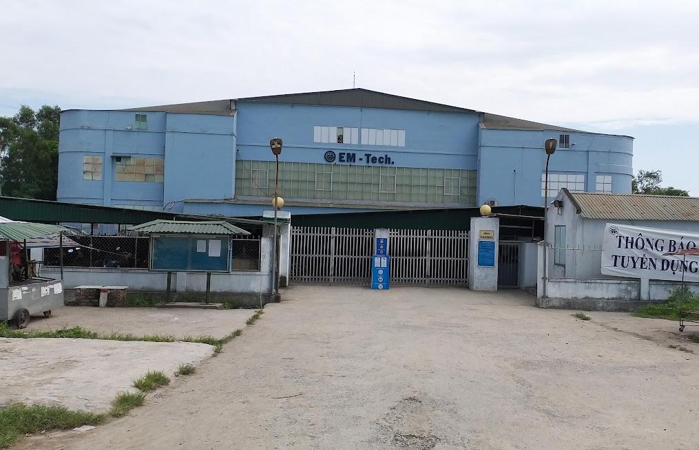 Chi nhánh Công ty TNHH EM - Tech Việt Nam tại Nghệ An (khối 2, phường Vinh Tân) có khoảng 3.000 công nhân đang làm việc