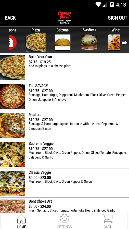 Conans Pizza- screenshot