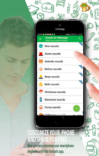 Sounds for Whatsapp - The Best Ringtones 2.0.0.7 screenshots 13