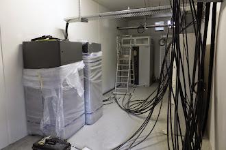 Photo: Local électrique 2 - Onduleur #datacenter #reims (Visite de chantier 16.10.2014)