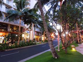 Photo: Waikiki at dusk.