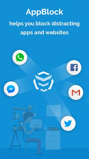 AppBlock - Stay Focused (Block Websites & Apps) screenshots 1
