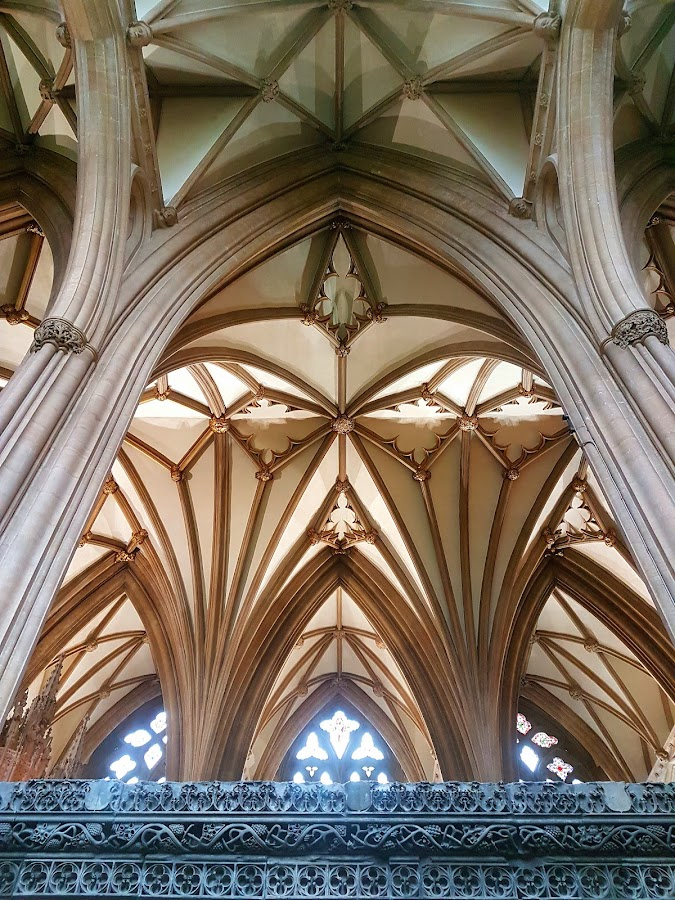 Exeter Cathedral by Zsuzsanna Abonyi - Buildings & Architecture Places of Worship