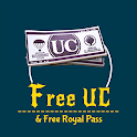 Free UC and Free Royal Pass icon