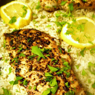 One Pot Lemon Herb Chicken and Rice