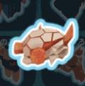 溶岩のヘルメット