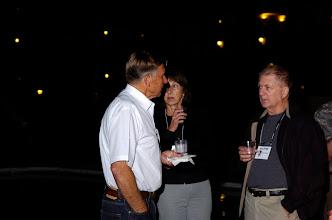 Photo: Bill Dickey, Susan and Wayne Callaway