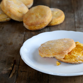 Gluten Free Sweet Potato Biscuits.
