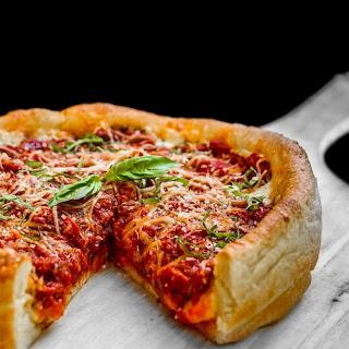 Deep-Dish Pizza.