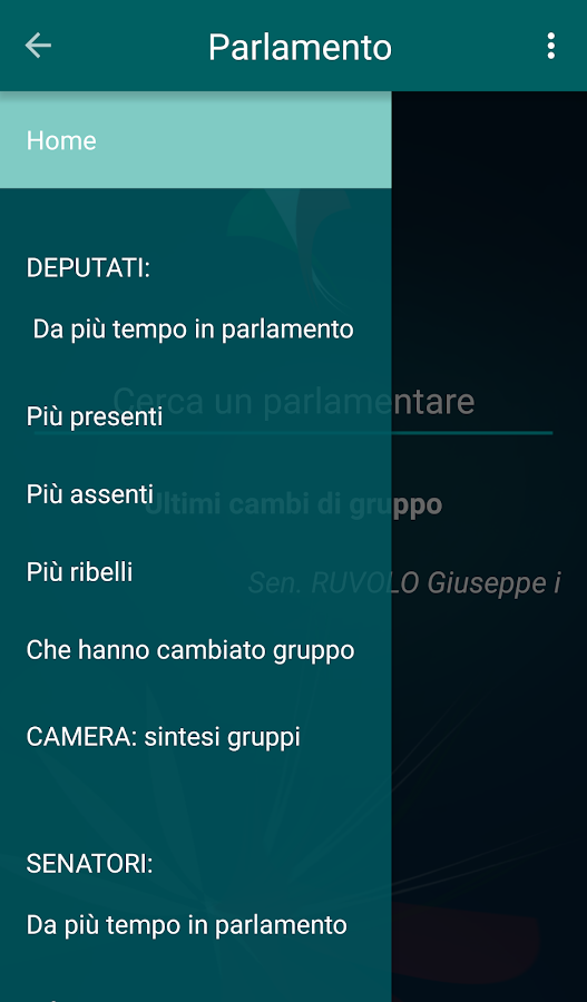 Parlamento Italiano- screenshot