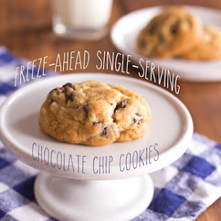 Freezable Chocolate Chip Cookies