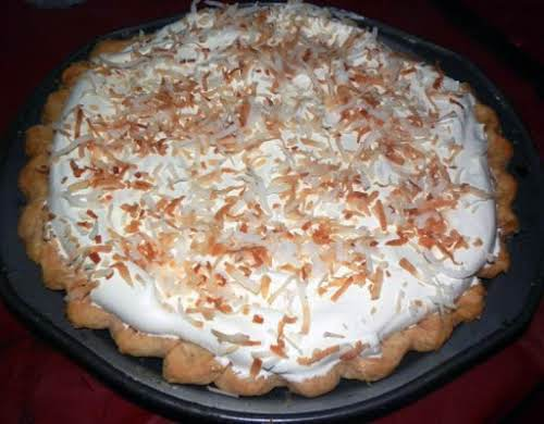 "Dee's Best Ever Coconut Cream Pie ""My son and his girlfriend said..."