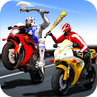 Bike Attack Race : Highway Tricky Stunt Rider icon