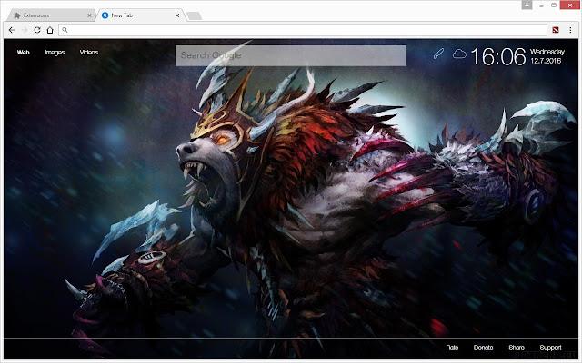 dota 2 hd wallpapers new tab theme chrome web store