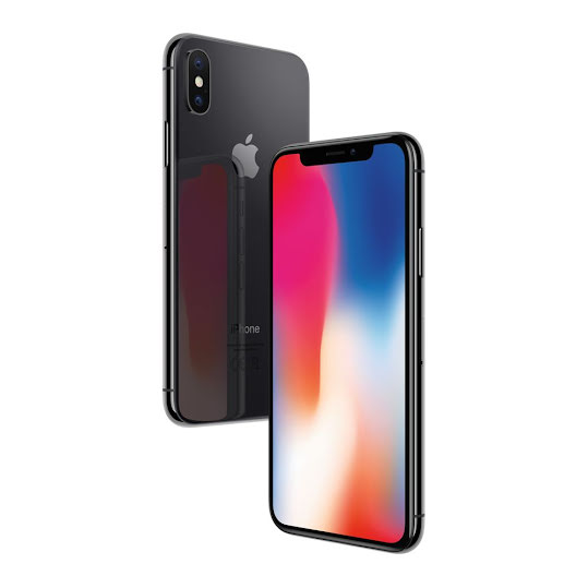 Apple iPhone X 64GB Space Gray (A)