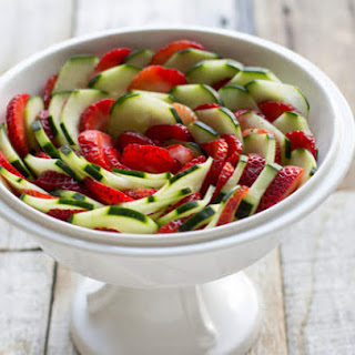 Strawberry Cucumber Salad