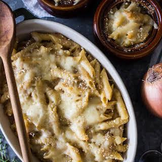 French Onion Pasta.